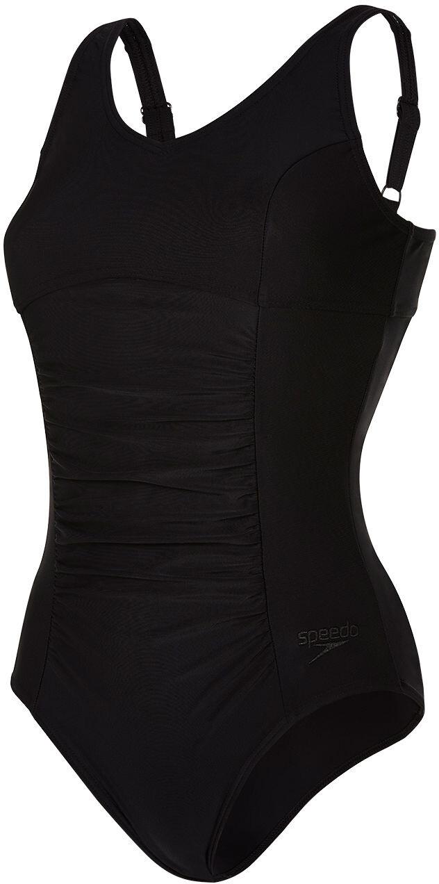 5890f77fbeb speedo Vivienne Clipback 1 Piece Swimsuit Women black at Bikester.co.uk